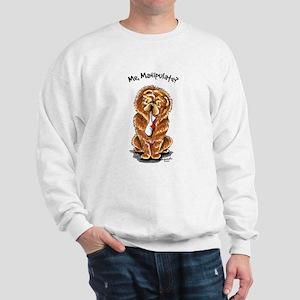 Red Chow Manipulate Sweatshirt