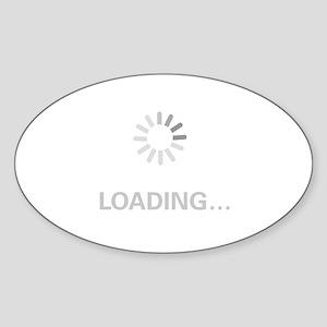 Loading Circle - Sticker (Oval)