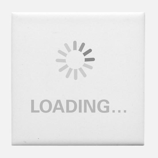 Loading Circle - Tile Coaster