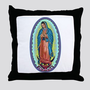 1 Lady of Guadalupe Throw Pillow