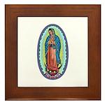 1 Lady of Guadalupe Framed Tile