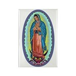 1 Lady of Guadalupe Rectangle Magnet (100 pack)