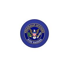 Licensed Bird Bander Mini Button