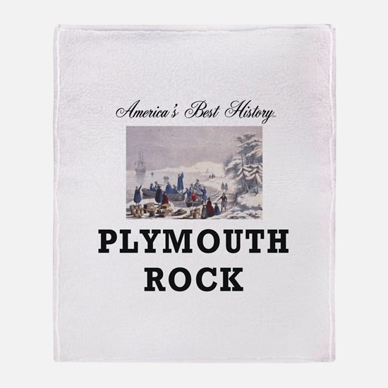 ABH Plymouth Rock Throw Blanket