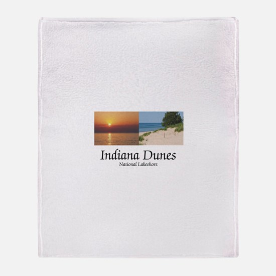 ABH Indiana Dunes Throw Blanket