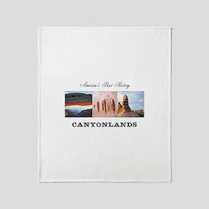 ABH Canyonlands Throw Blanket