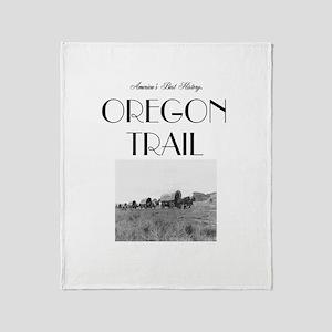 ABH Oregon National Historic Trail Throw Blanket