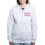 Alpha Female Women's Zip Hoodie