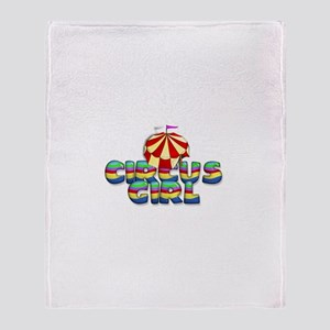 CPM Carnival Girl Throw Blanket
