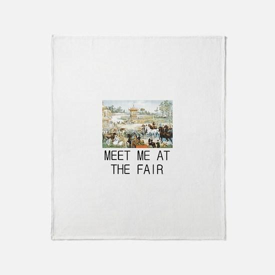 Country Fair Throw Blanket