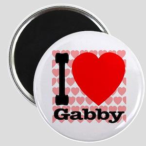 I Love Gabby Magnet