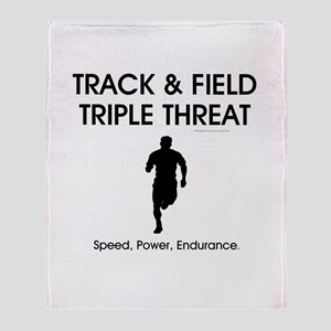 TOP Track and Field Throw Blanket