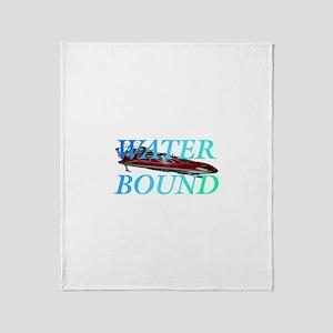 Water Bound Throw Blanket