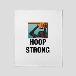 TOP Hoop Strong Throw Blanket
