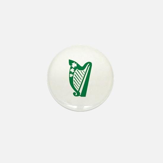 Irish harp Mini Button