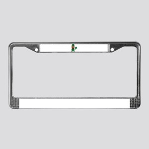 Leprechaun License Plate Frame