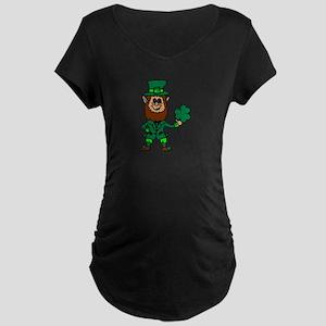 Leprechaun Maternity Dark T-Shirt