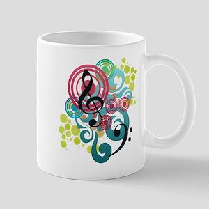 Music Swirl Mug