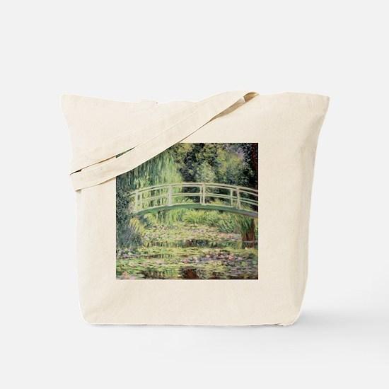Cool Lily pond Tote Bag