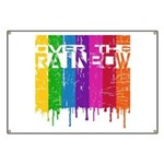 Over the Rainbow Banner