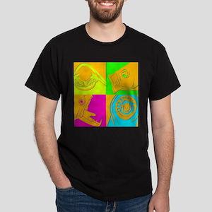 Retro Fish Dark T-Shirt
