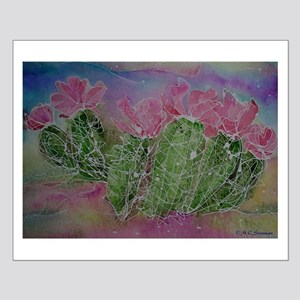 Cactus, Blossoms, Colorful, Small Poster