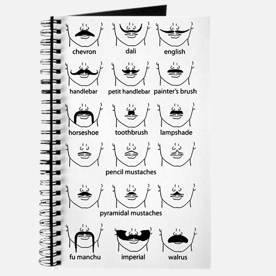 Moustache Chart Journal