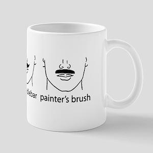 Handlebar Moustache Trio Mug