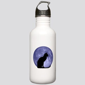Cat & Moon Stainless Water Bottle 1.0L