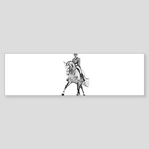 Dressage horse Sticker (Bumper)
