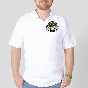 Jackson Hole Olive Golf Shirt