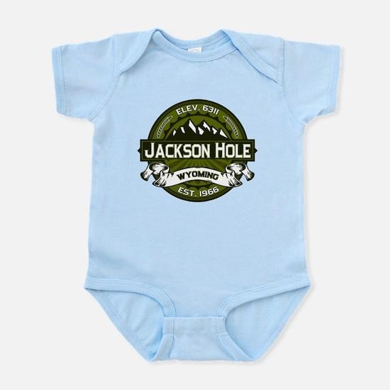 Jackson Hole Olive Infant Bodysuit