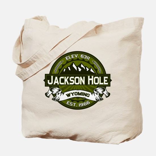 Jackson Hole Olive Tote Bag