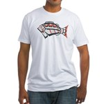 NW Halibut Fitted T-Shirt