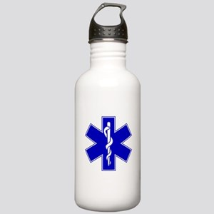 Blue Star of Life Stainless Water Bottle 1.0L