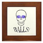 Balls Framed Tile