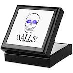 Balls Keepsake Box