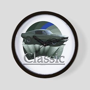 67 Mustang Wall Clock