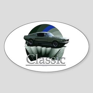 67 Mustang Sticker (Oval)