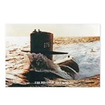 USS BILLFISH Postcards (Package of 8)