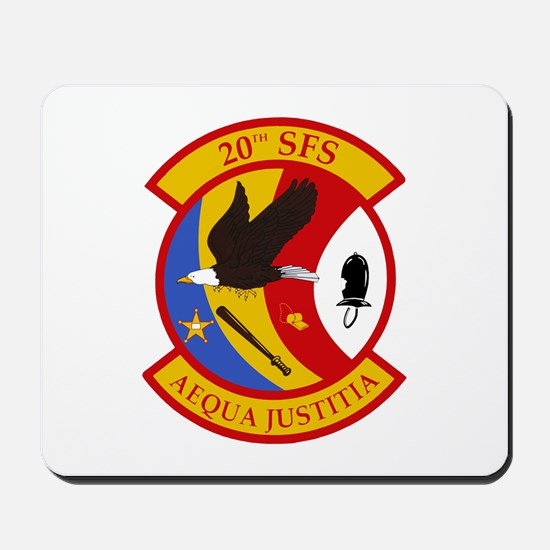 20th Security Forces Mousepad