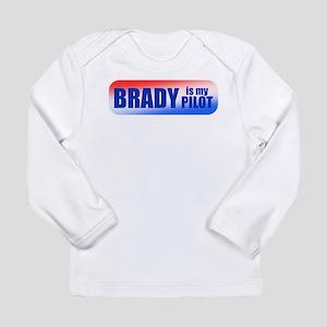 Brady Is My Pilot Long Sleeve Infant T-Shirt