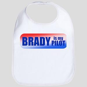 Brady Is My Pilot Bib