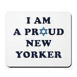 Jewish - I Star of David NY - Mousepad