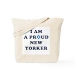 Jewish - I Star of David NY - Tote Bag