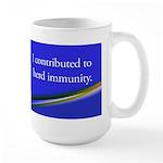 Herd Immunity Large Mug