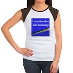 Herd Immunity Women's Cap Sleeve T-Shirt