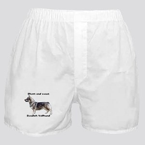 Swedish Vallhund short and sweet Boxer Shorts