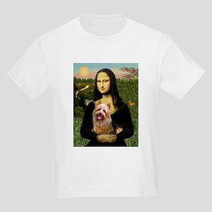 Mona & her Aussie Terrier Kids T-Shirt