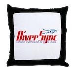 DiverSync Throw Pillow